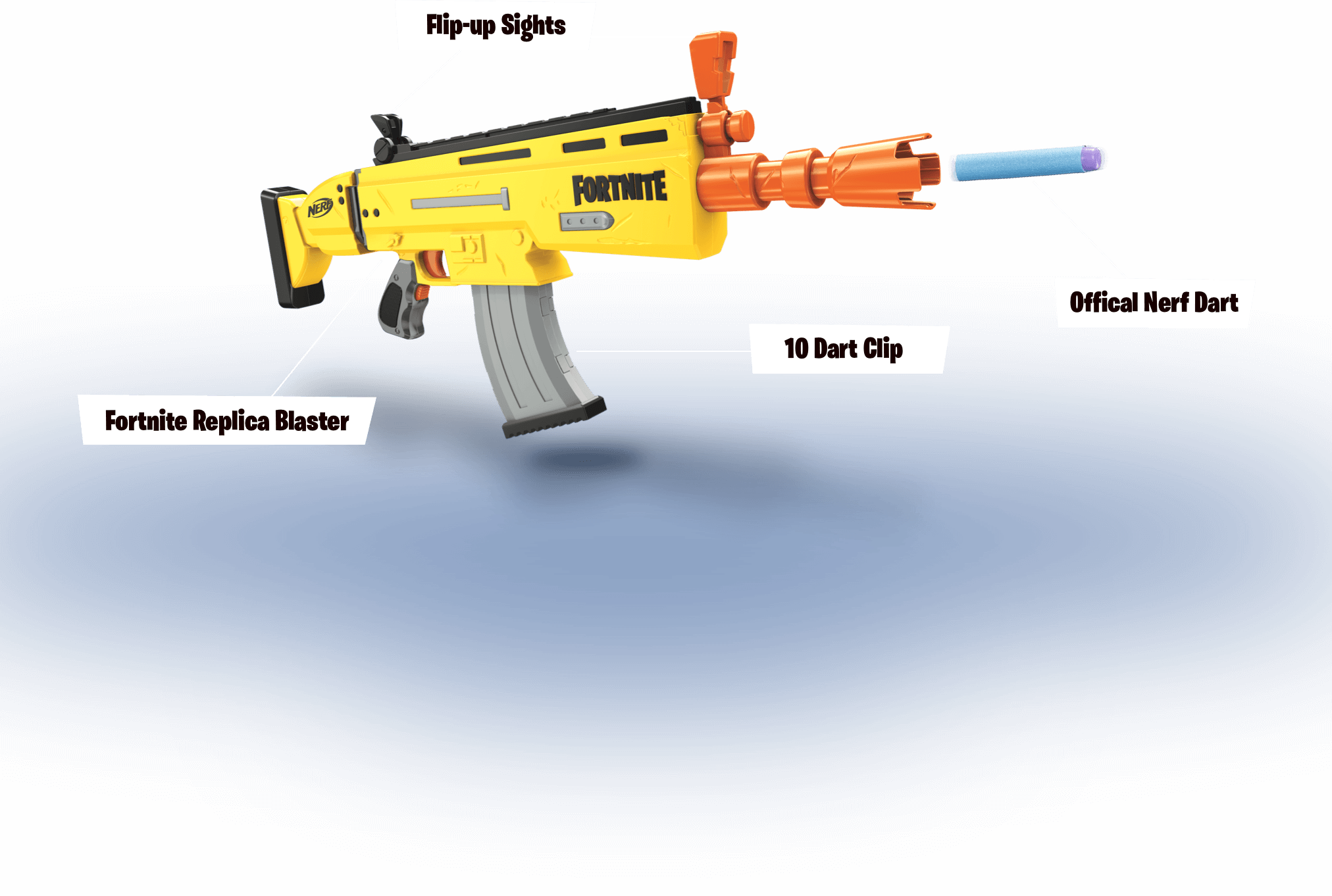 blast into action - scar h fortnite png