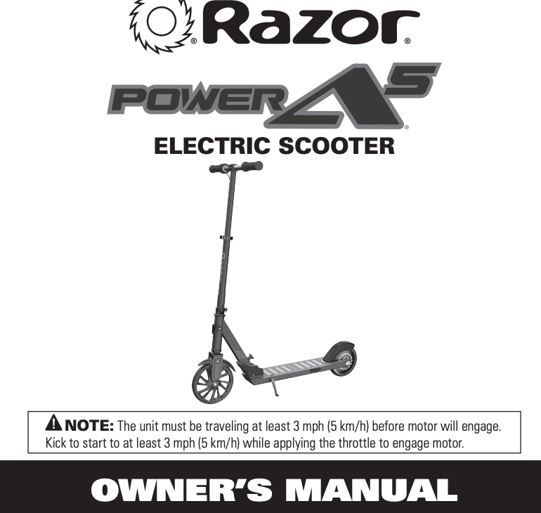 Power A5 Manual