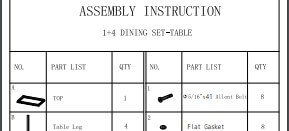 Assembly Instruction