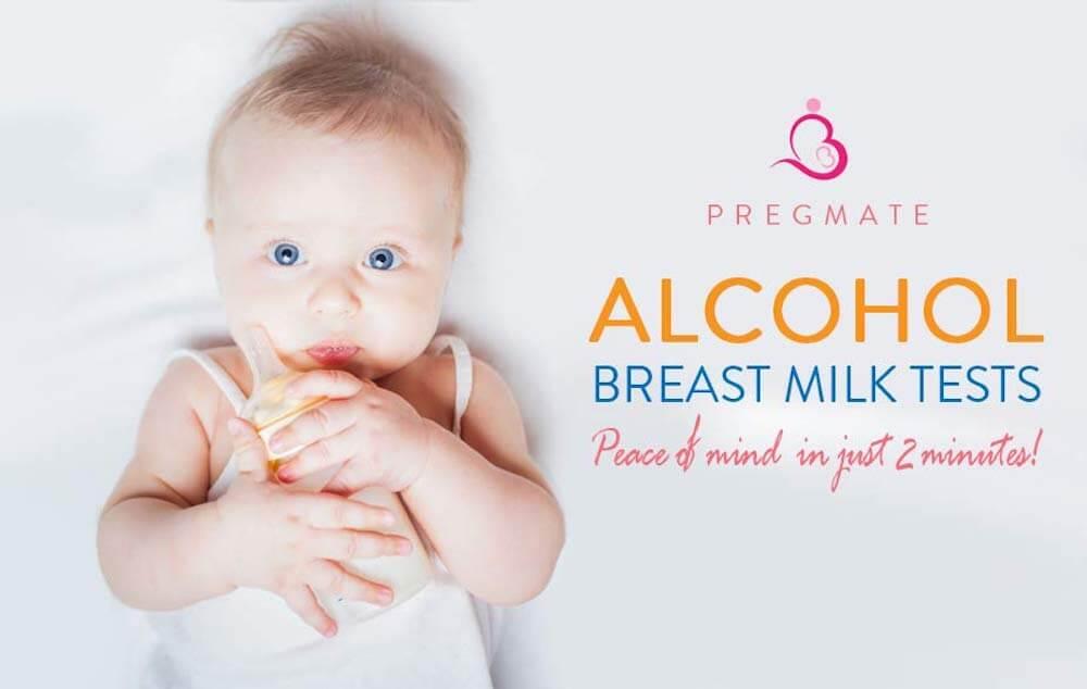 PREGMATE 10 Alcohol Breast Milk Tests One Step Breastmilk Test Strips For  Breastfeeding (10)