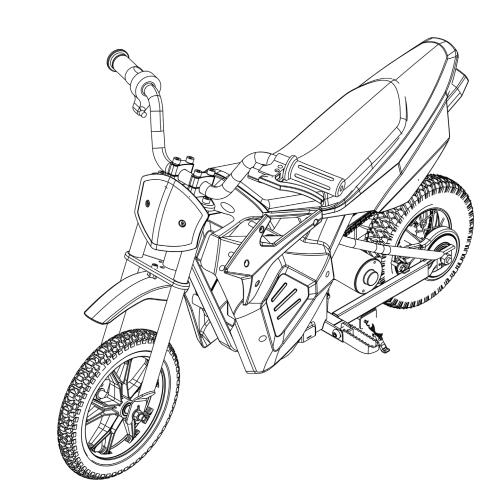 Pulse Performance Em 1000 Electric Dirt Bike