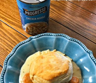 Simple Chicken Noodle Pot Pie - Darci Bean