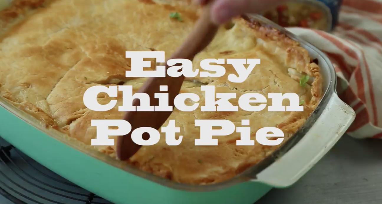 Easy Chicken Pot Pie - Jackie Bruchez