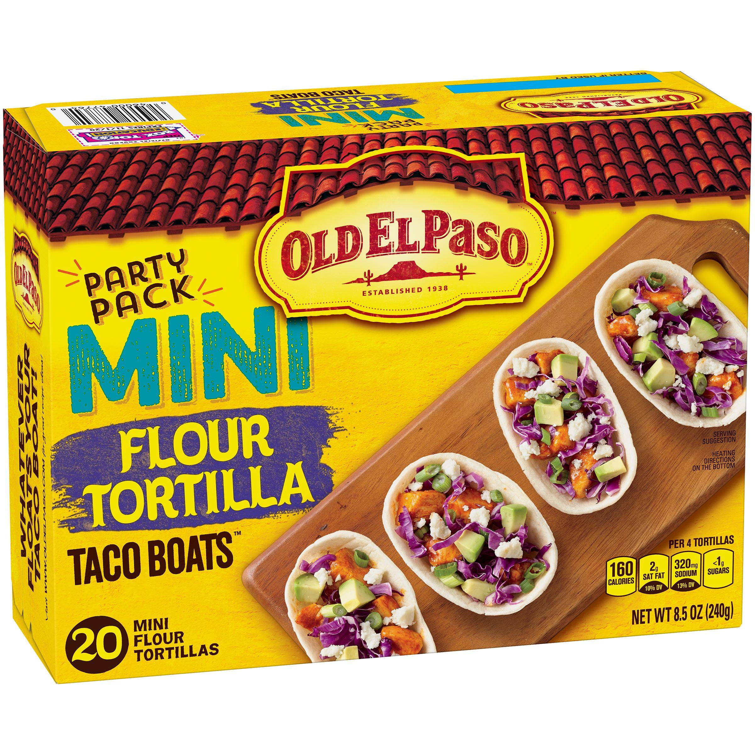 Old El Paso Restaurante Grande Flour Tortillas, 6 ct - Walmart.com
