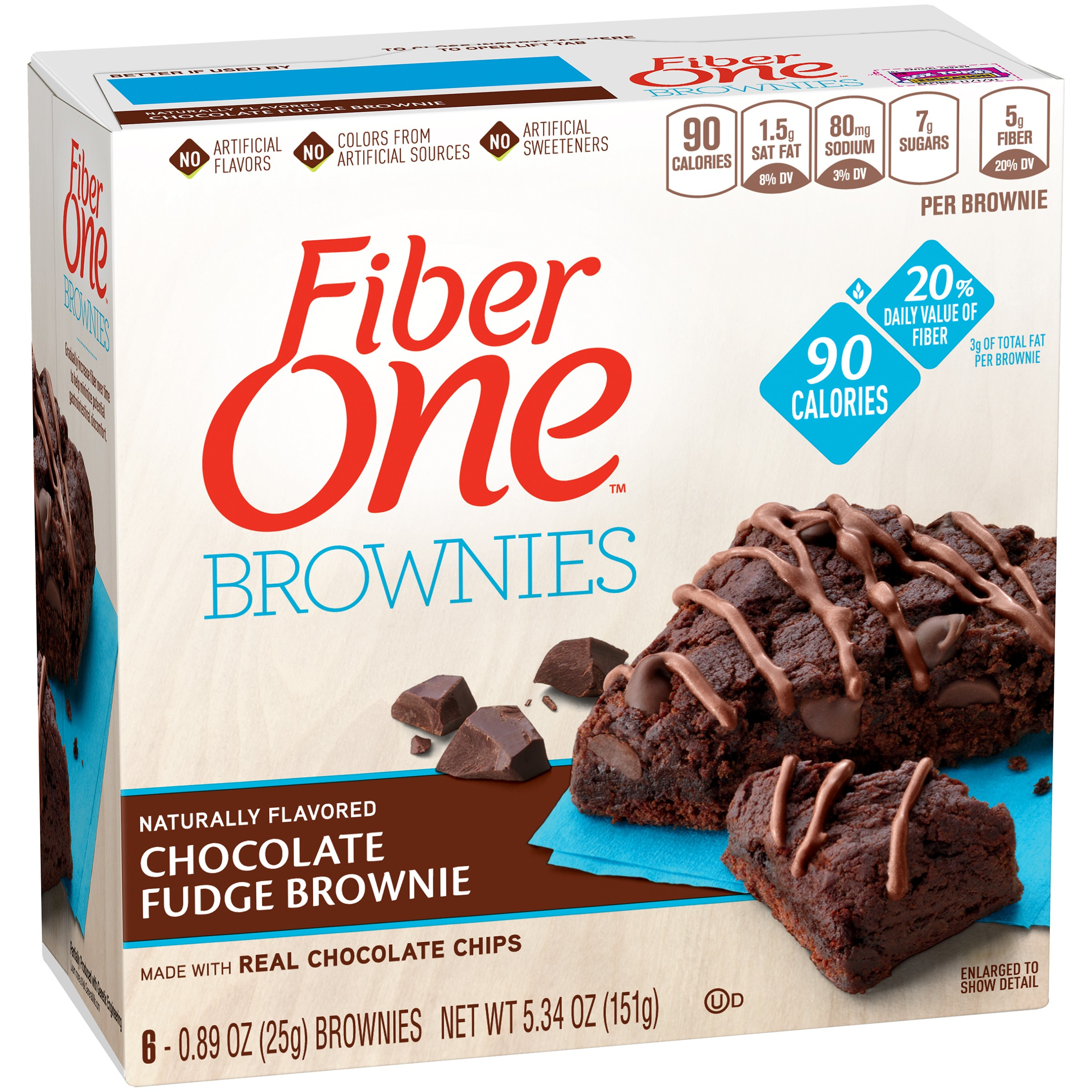 Fiber One Protein Chewy Bar Peanut Butter 5 - 1.17 oz Bars ...