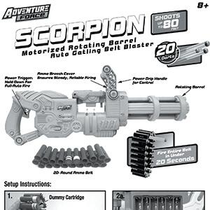 Scorpion Instructions