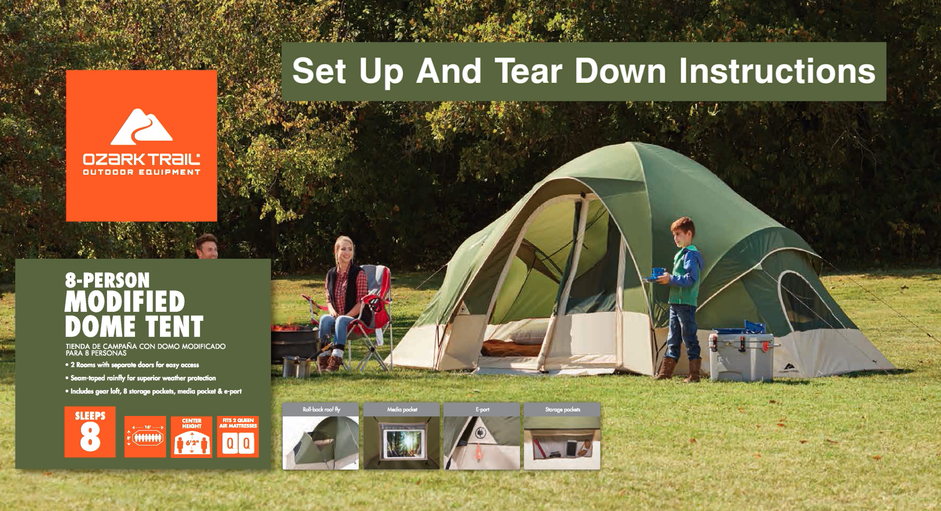 Ozark Trail Tent Instructions Choice Image - form 1040 instructions