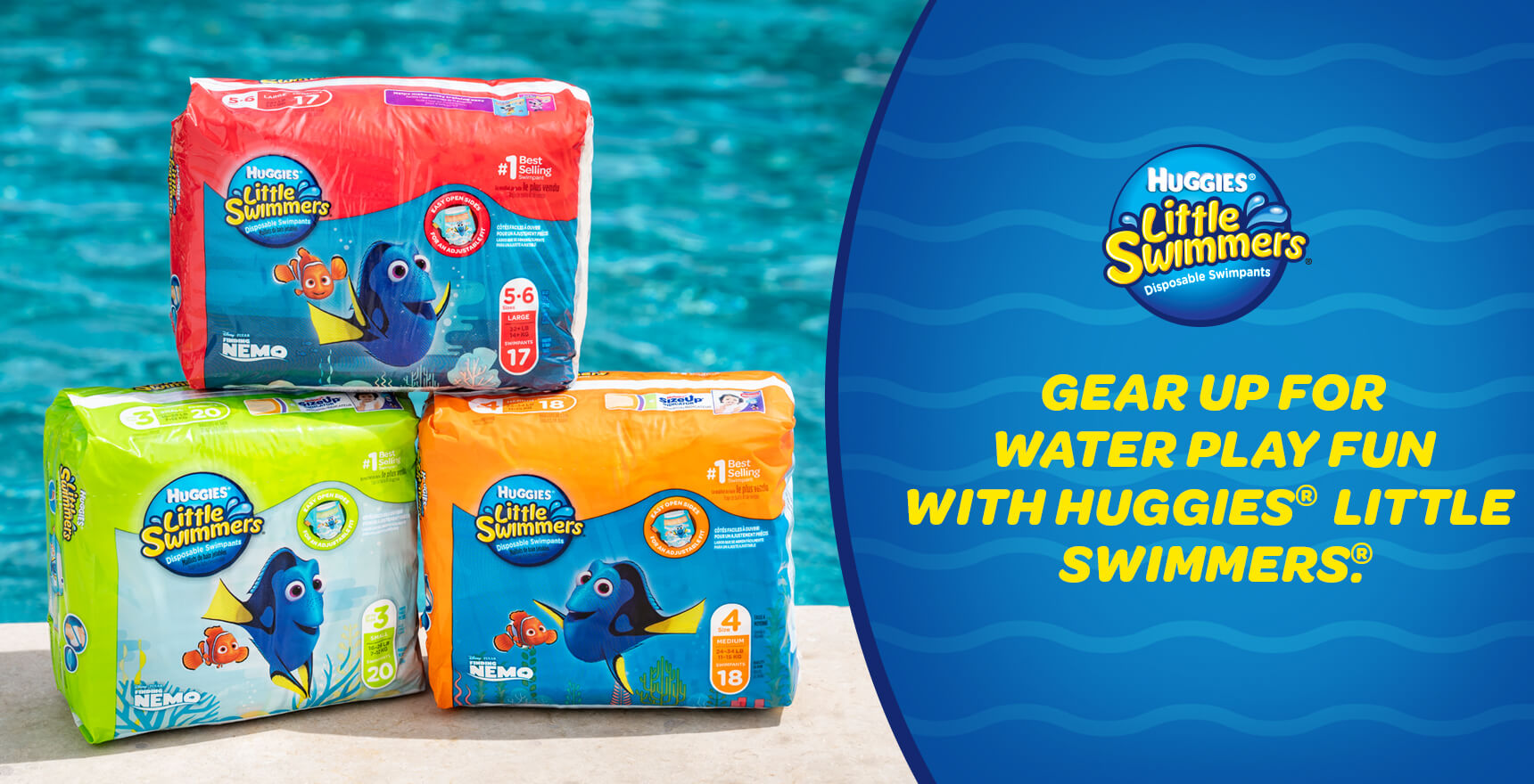 $6.99 Was $8.95. Save $1.96. HUGGIES Little Swimmers ...