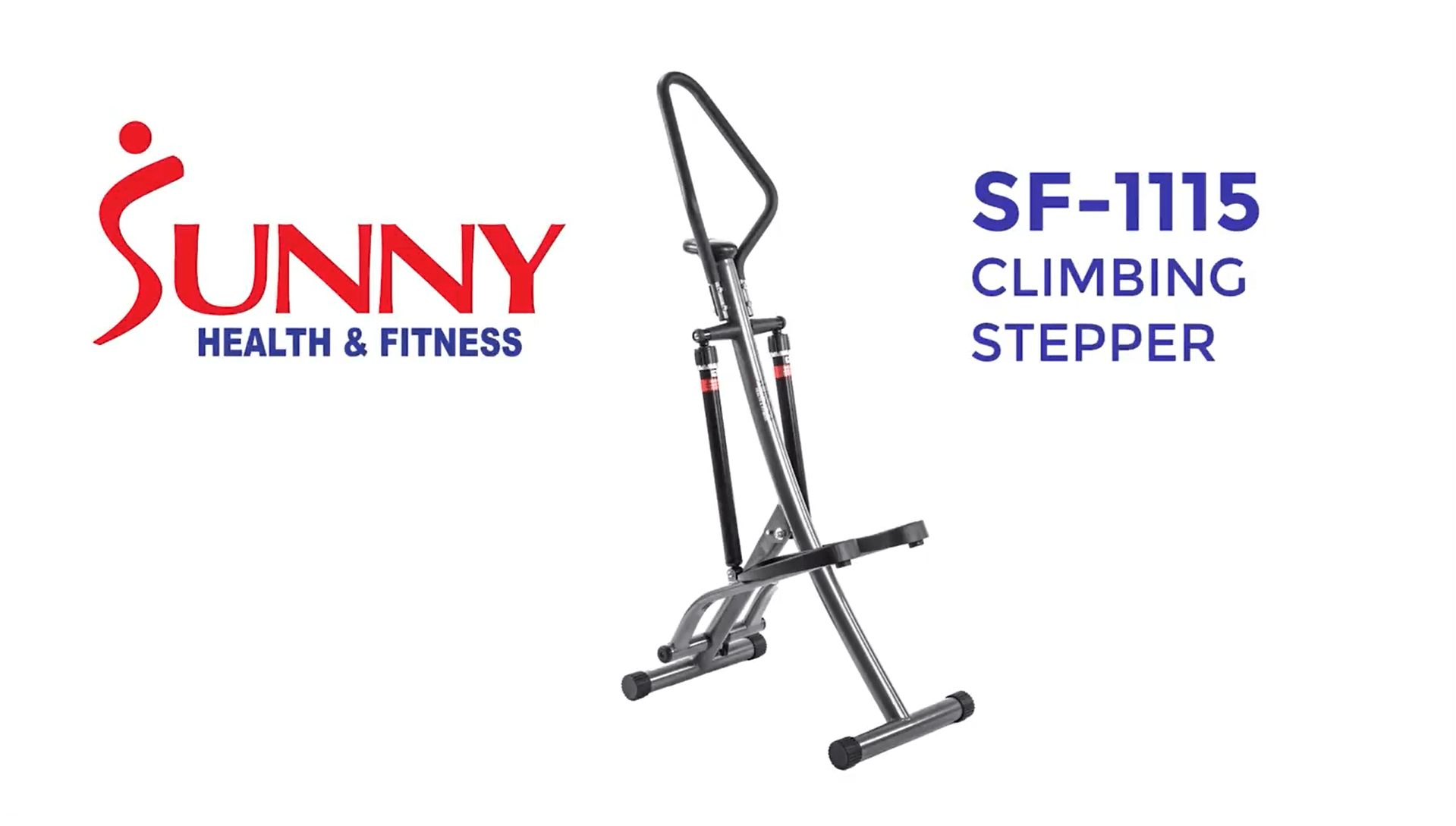 Sunny Health & Fitness Step Machine - SF-1115 - Walmart.com ...