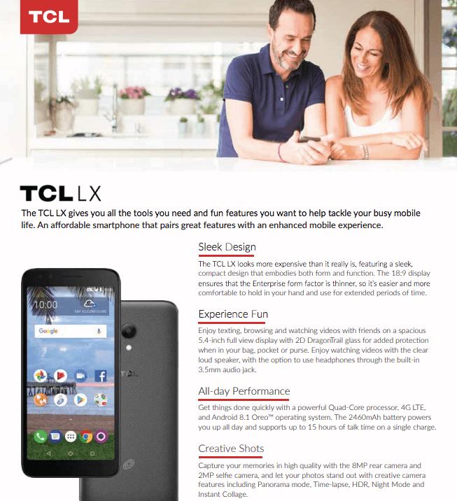 A502DL TCL LX_Sales Sheet.pdf