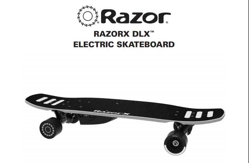 RazorX DLX Owner's Manual