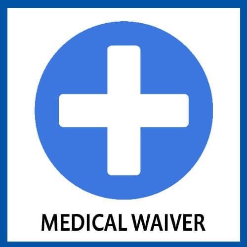 GHI Medical Waiver Card