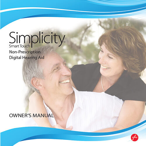 GHI Simplicity Smart touch manual