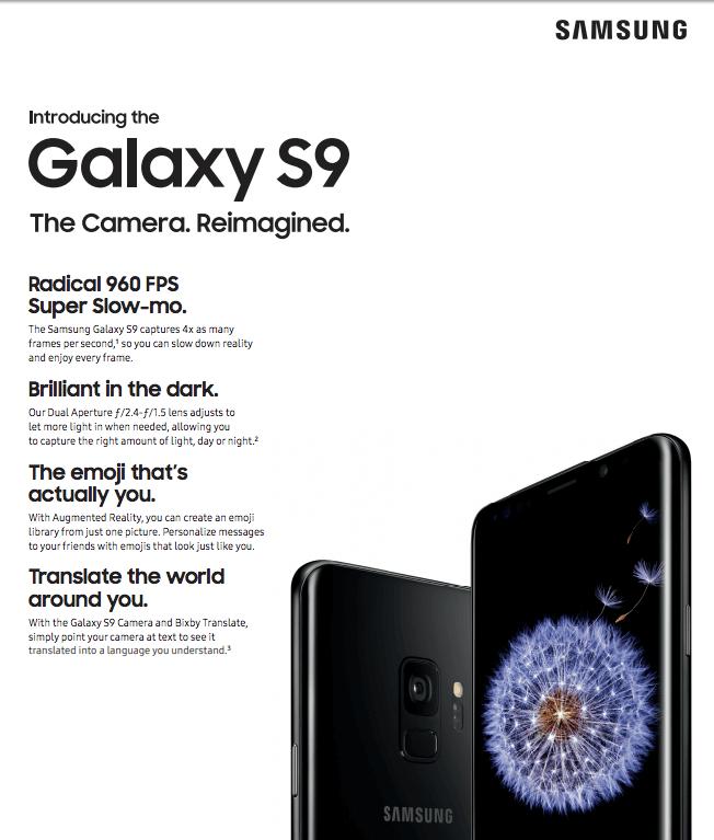 Total Wireless Samsung Galaxy S9 Plus LTE Prepaid Smartphone