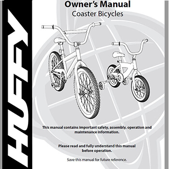 Huffy EZ Build Bike Assembly Guide