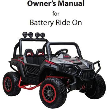 #6171 Kids-Four-Wheeler-Ride-On-Manual
