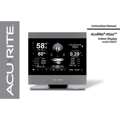 AcuRite Atlas Manual