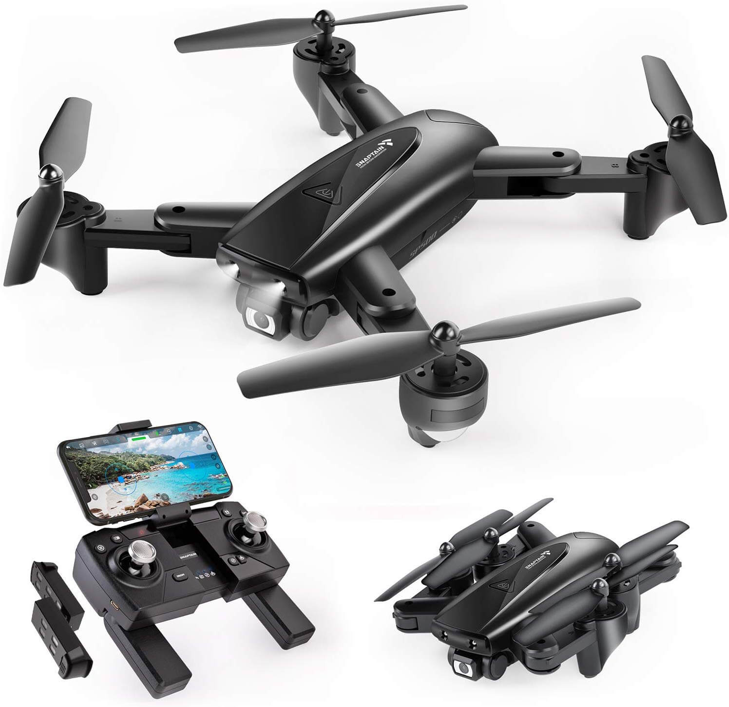 RC Drone Toy 1080P HD Camera Quadcopter Helicopter RC Toy for Kids Adults