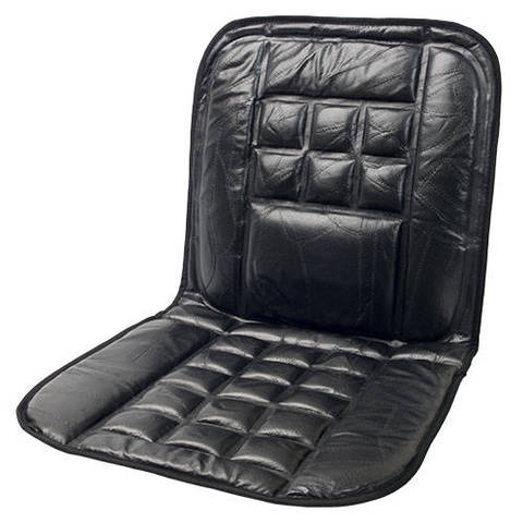 The Wagan Leather Lumbar Support Cushion (IN9615) Is A Stylish Way To  Enhance The Comfort Of Your Car Or Truck Seat As Well As Protect Your  Upholstery.