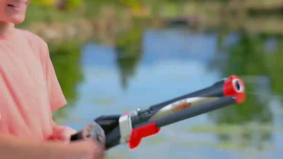 Rocket Fishing Rod by Games Casts up to 30 feet - Walmart com