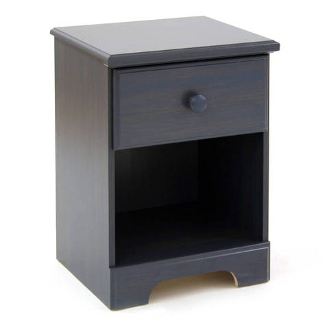 South Shore Summer Breeze Nightstand, Blueberry
