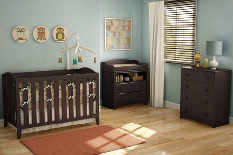 South Shore Angel Collection, Espresso Finish