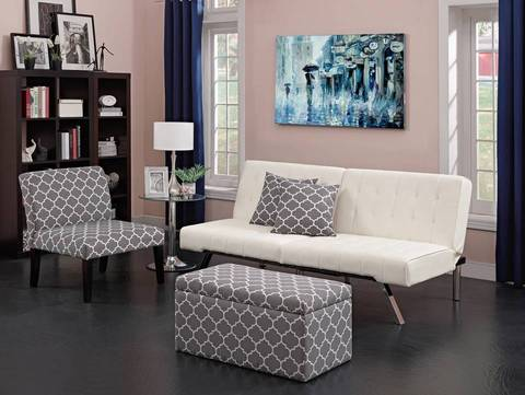 futon for living room. Living Room Solution DHP Emily Convertible Futon Sofa Couch  Multiple Colors Walmart com