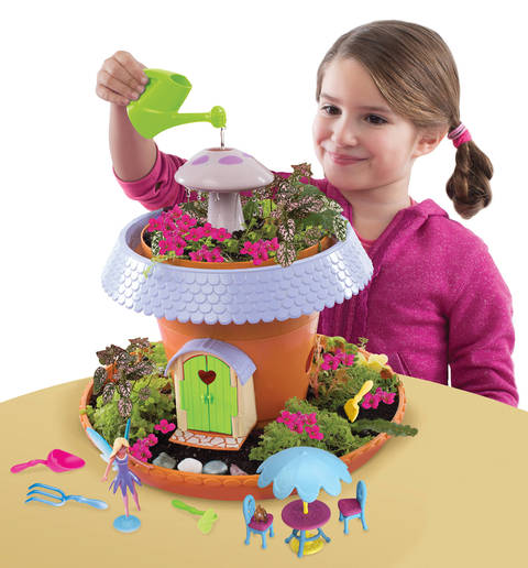 Superior Using The Included Soil And Seeds, Plant Your Very Own Fairy Garden And  Watch It Grow. Add Your Own Flowers Or Seeds, Too  The Possibilities Are  Endless.