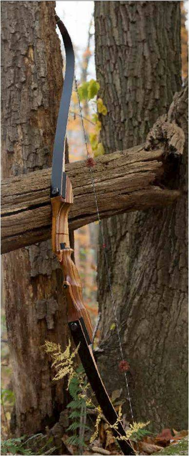 OMP Smoky Mountain Hunter Recurve 62-Inch Limbs Bow