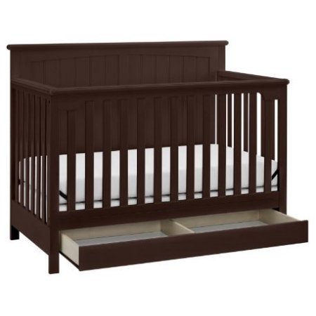 Storage Drawer. Features A Large Under Crib ...