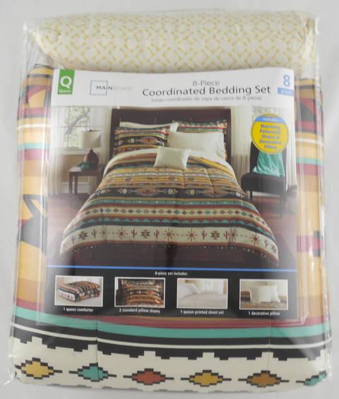 Mainstays Kokopelli Bed In A Bag Bedding Set Walmart Com Walmart Com