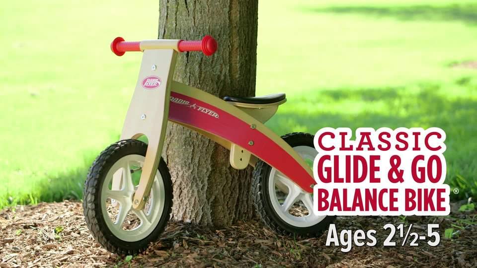 Radio Flyer Classic Glide Go Balance Bike Walmart Com