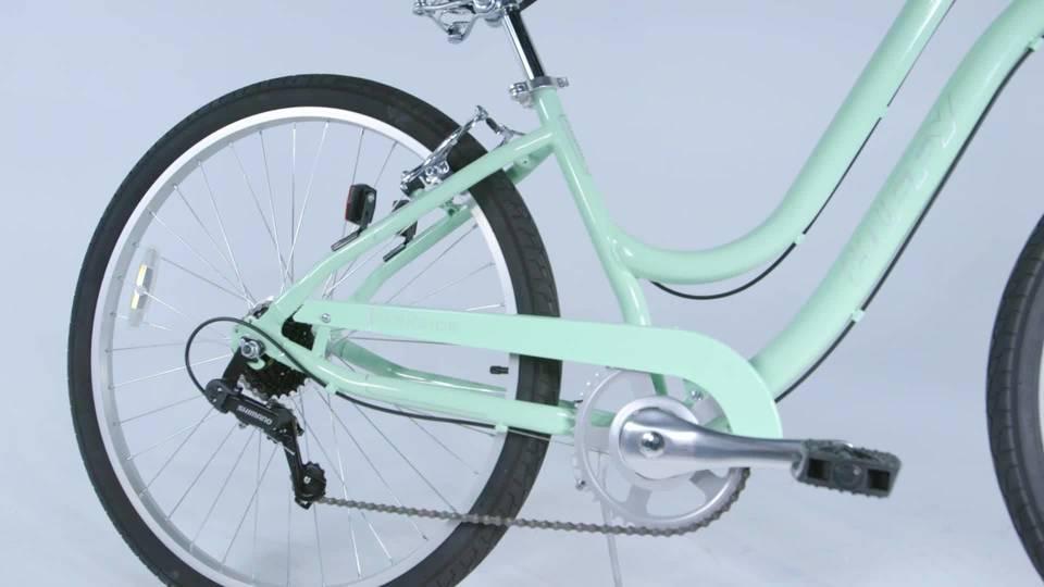 Huffy 275 Parkside Womens City Bike Mint
