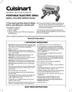 Cuisinart Outdoor Electric Tabletop Grill Walmart Com