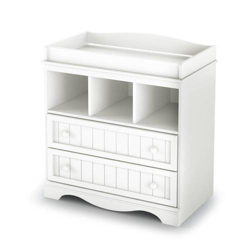 Nice South Shore Savannah Changing Table, Pure White