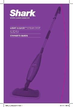 Shark Lite N Easy Steam Mop S3251 Walmart Com
