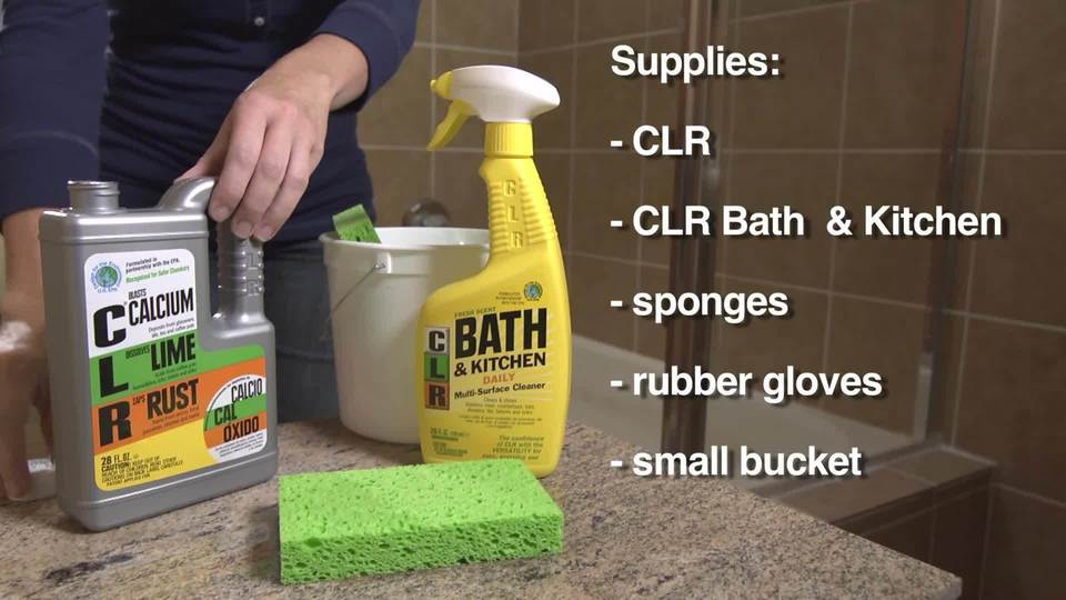 CLR Calcium, Lime & Rust Remover, Biodegradable, 28 Oz Bottle ... on case kitchen and bath, lysol kitchen and bath, ge kitchen and bath, kohler kitchen and bath,