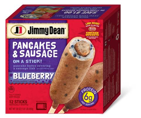Jimmy Dean Pancakes and Sausage on a Stick Original 12 Count