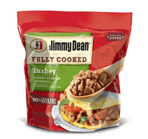 Jimmy Dean Fully Cooked Turkey Sausage Crumbles 96 Oz