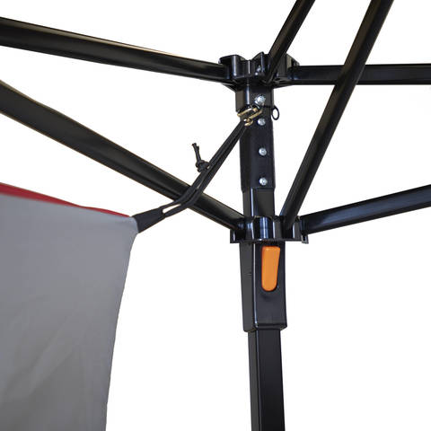 S-hooks on the upper corners of the ConnecTent clip into existing loops located on the upper corners of your canopy.  sc 1 st  Walmart & Ozark Trail 4-Person ConnecTent for Canopy - Walmart.com