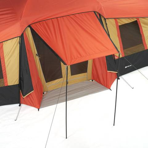 Canopy  sc 1 st  Walmart.com & Ozark Trail 10-Person 3-Room Vacation Tent with Built-in Mud Mat ...
