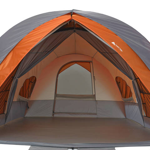 Spacious interior  sc 1 st  Walmart & Ozark Trail 8-Person Dome Tunnel Tent with Maximum Weather ...