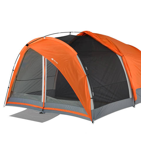 Built in Screen Room  sc 1 st  Walmart & Ozark Trail 8-Person Dome Tunnel Tent with Maximum Weather ...