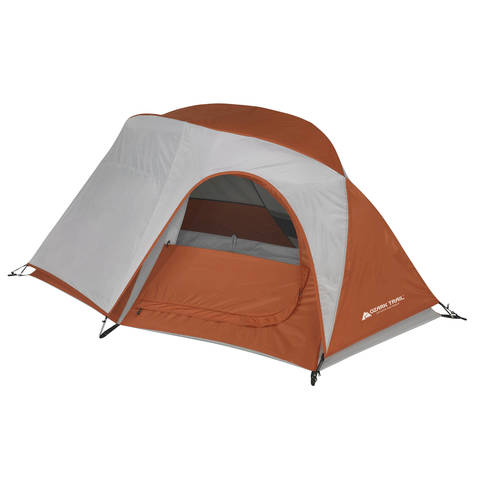 Weighing in at an easy to carry 4.4 pounds this hiker tent packs up small but feels big in the great outdoors.  sc 1 st  Walmart & Ozark Trail 1-Person Hiker Tent - Walmart.com