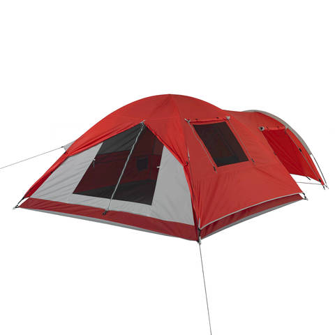 The roll back fly provides additional ventilation when c&ing in hot weather and allows easy access to the door in the rear of the tent.  sc 1 st  Walmart & Ozark Trail 4-Person Dome Tent with Vestibule and Full Coverage ...