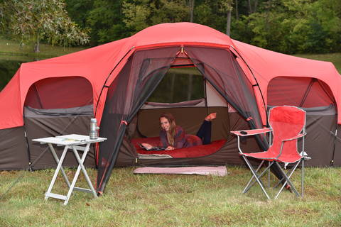 Tents Ozark WT172115 Trail 10 Person Family Tent
