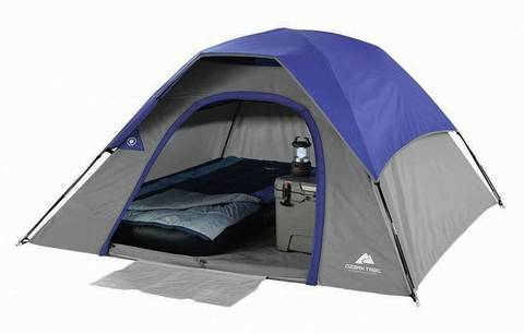 Tent With Fly  sc 1 st  Walmart & Ozark Trail 3-Person Dome Tent - Walmart.com